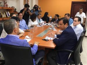 Mariano Zambrano y Leonardo Orlando se reúnen para iniciar proceso de transición