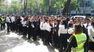 Un sismo de magnitud 5,7 sacude el sur de México y se percibe en la capital