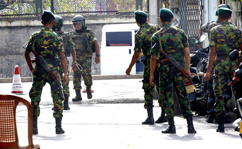 EEUU advierte que terroristas siguen planeando nuevos ataques en Sri Lanka