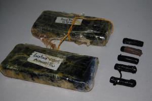 Decomisan droga en la vía Babahoyo - San Juan