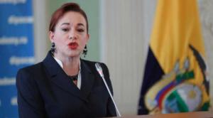 Parlamento admite a trámite juicio político a excanciller de Ecuador