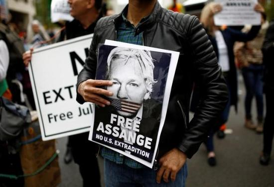 Julian Assange rechaza su extradición a Estados Unidos