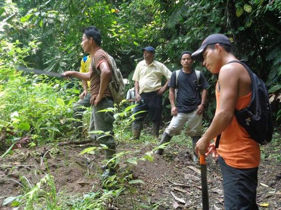 Retornan 10 miembros de la etnia chachi que estaban desaparecidos