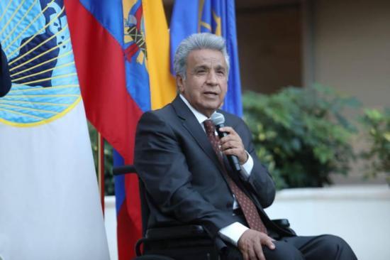 Presidente Moreno crea una comisión internacional contra la corrupción