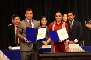 Autoridades electas de Manabí reciben credenciales del CNE