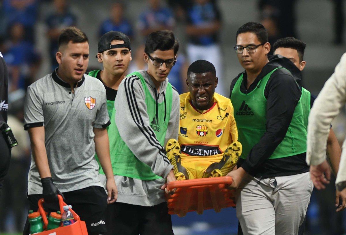 Marcos Caicedo será operado hoy y tendrá dos meses de baja en Barcelona SC