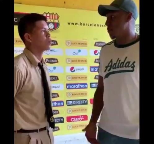 [VÍDEO] Pasabolas pide disculpas a Banguera por incidente tras el Clásico del Astillero