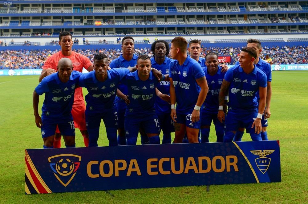 Copa Ecuador: Emelec repite marcador ante Atlético Santo Domingo en el cotejo de vuelta (0-2)