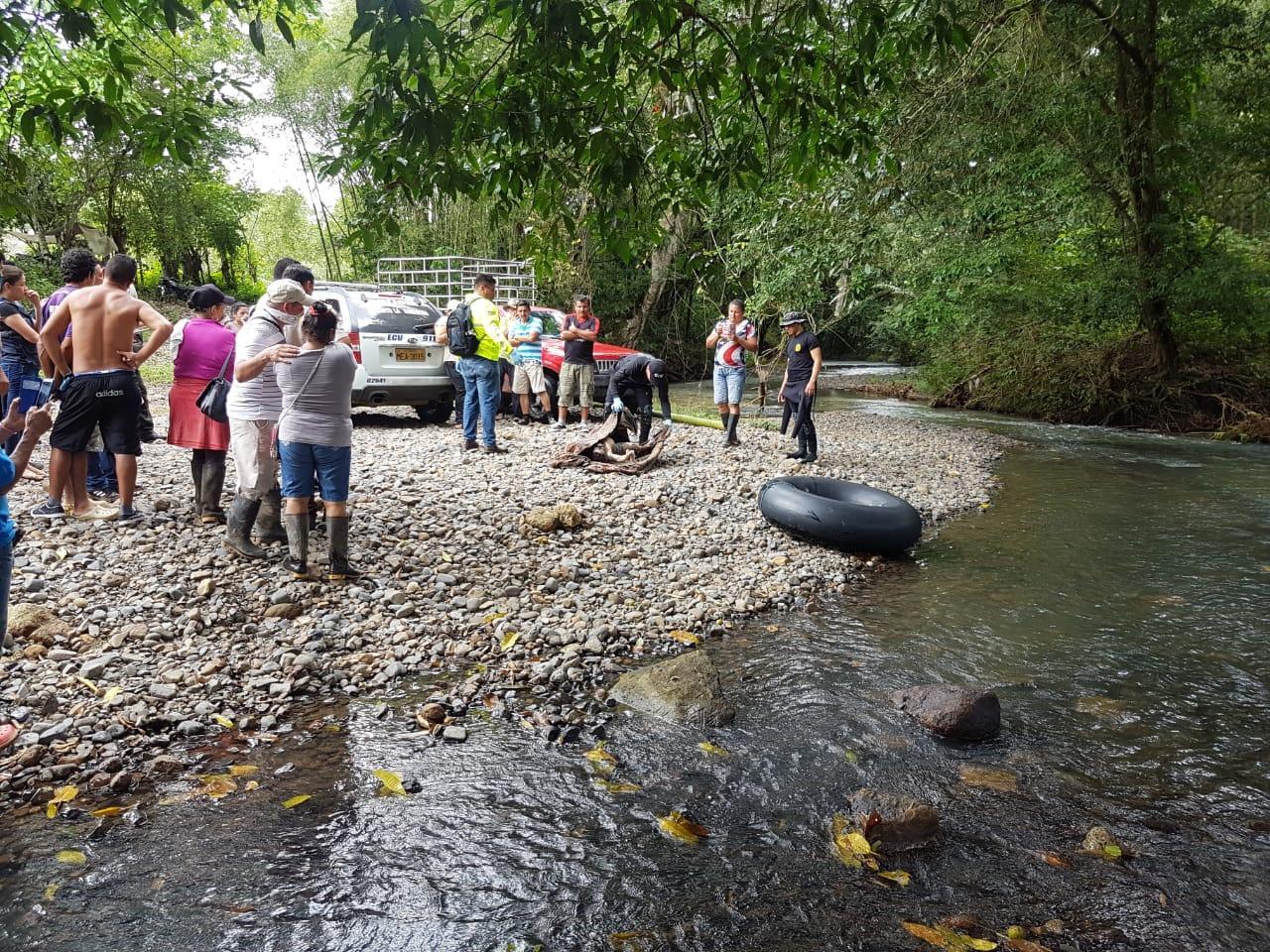 Hallan cuerpo de la menor que desapareció en el río Las Vahinas, en El Carmen