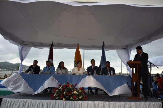 Santa Ana, San Vicente y Sucre posesionan a sus nuevas autoridades