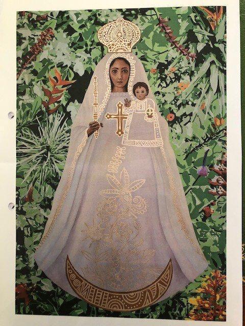 Ecuador ya tiene a su Virgen del Quinche en los jardines del Vaticano