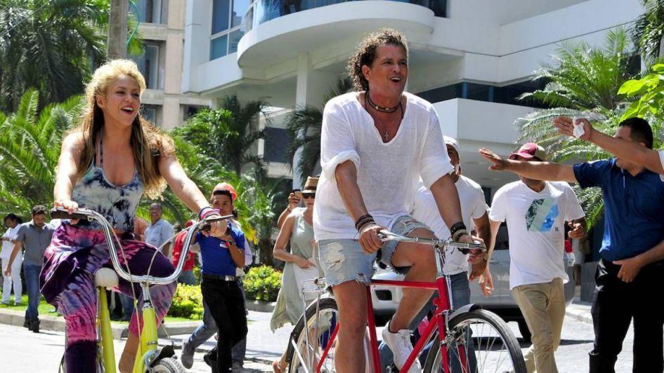 Juez declara que canción de Carlos Vives y Shakira, ''La Bicicleta'', no es plagiada