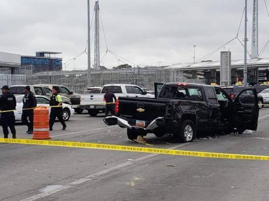 Un hombre atropelló a 5 personas durante huida cerca de la frontera