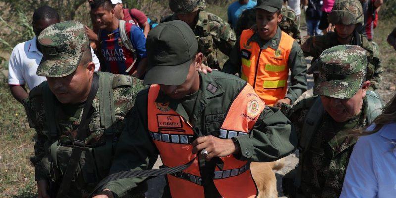Desalojan 65 exmilitares venezolanos de hotel en Cúcuta por no pagar estadía