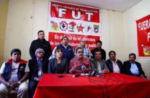 Frente de trabajadores rechaza reformas laborales y prepara huelga general