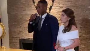 Antonio Valecia y Zoila Meneses se casaron