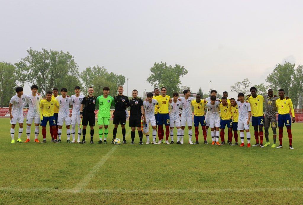 Ecuador pierde 0-1 ante Corea del Sur partido previo al mundial de Polonia