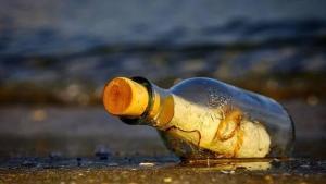 Encuentran en remota isla de Japón un mensaje en una botella escrito en español