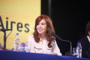 Cristina Fernández presenta su candidatura a la Vicepresidencia de Argentina