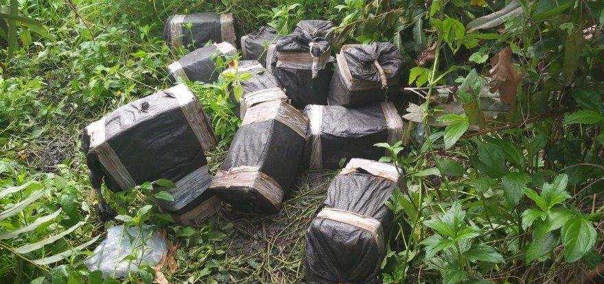 Dos toneladas de droga llevaba avioneta que se cayó en Esmeraldas
