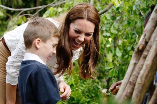 La duquesa de Cambridge diseña un jardín inspirado en sus recuerdos de infancia