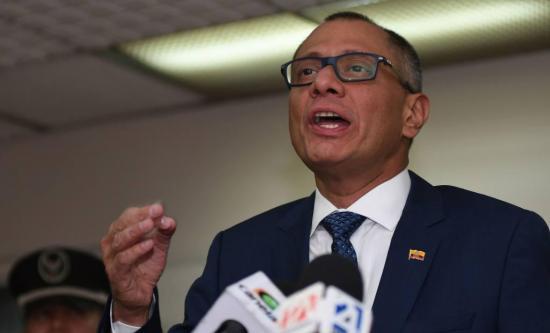 Rechazan apelación a exvicepresidente Jorge Glas en caso Singue