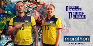 Presentan la nueva camiseta de la Selección de Ecuador