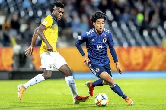 Ecuador empata ante Japón en su debut del Mundial Sub-20 de Polonia