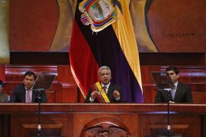 Moreno hace balance de su gestión; promete eliminar el impuesto verde, más viviendas y empleos