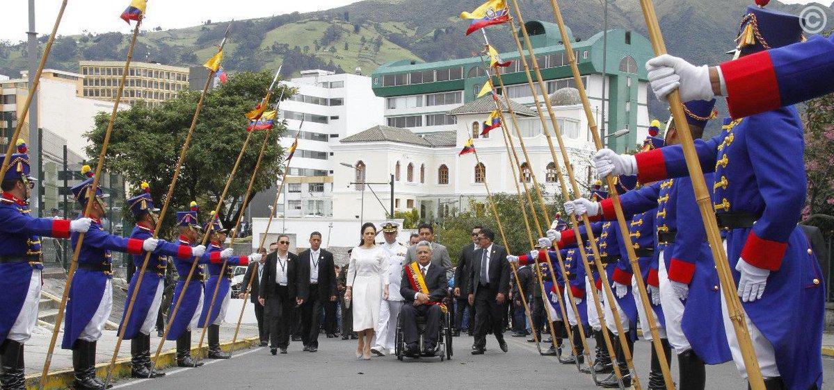 Los índices de credibilidad y aprobación del presidente Moreno están en un 25%