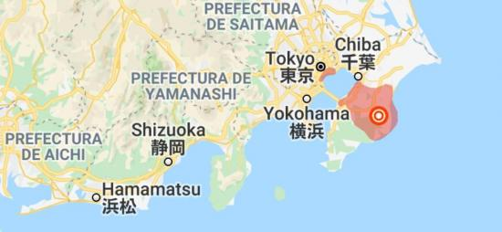 Movimiento sísmico de 5,1 en escala de Richter se siente con fuerza en Tokio