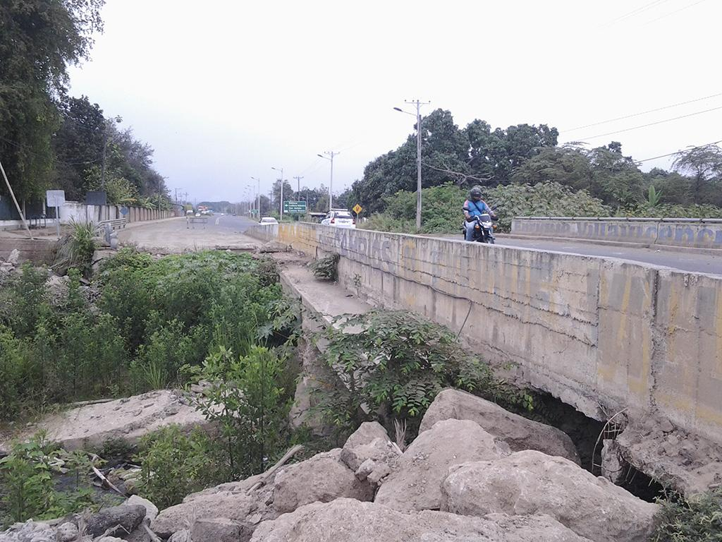 El puente de Lodana, sin  recursos