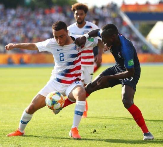 Mundial Sub20: Estados Unidos vence por 3-2 a Francia y se convierte en rival de Ecuador