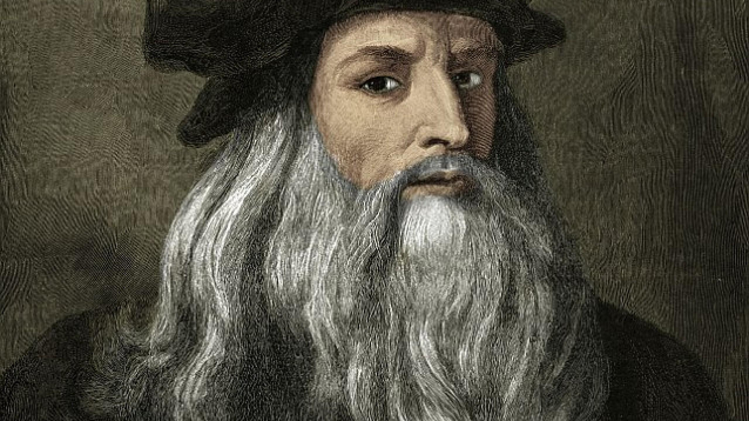 La mente del artista e inventor Leonardo da Vinci, al
