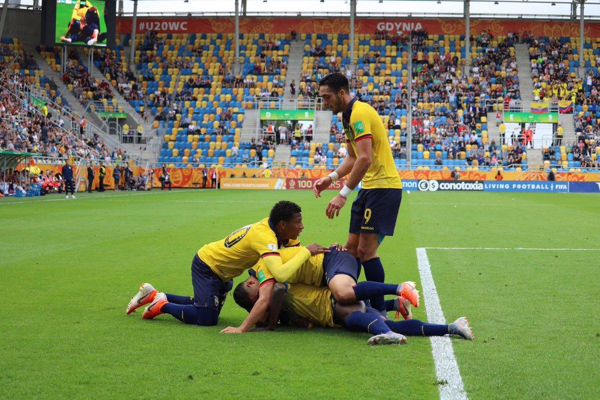 La Selección Sub 20 de Ecuador clasifica a semifinales del Mundial de Polonia tras vencer 2-1 a Estados Unidos