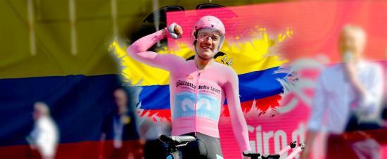 Richard Carapaz, campeón del Giro de Italia, llega hoy a Ecuador