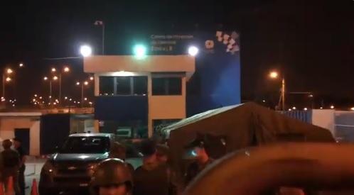 Un muerto en incidente violento en cárcel de Guayaquil