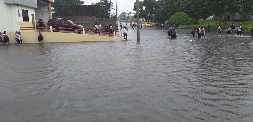 Afectados por las lluvias