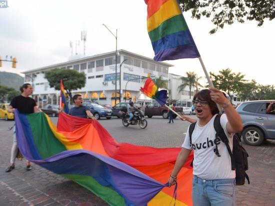 Celebran fallo a favor del matrimonio gay en Ecuador