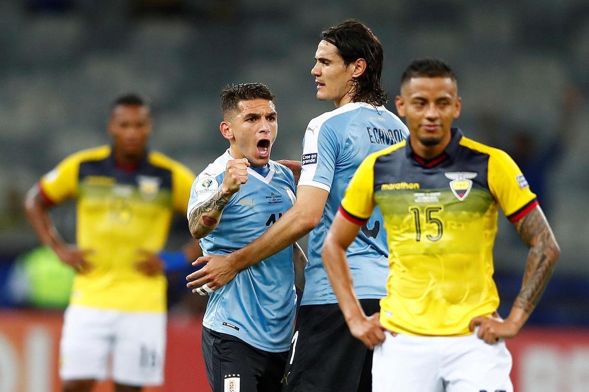 ¡VERGONZOSO DEBUT! Ecuador cae por 4-0 ante Uruguay en el Estadio Mineirão