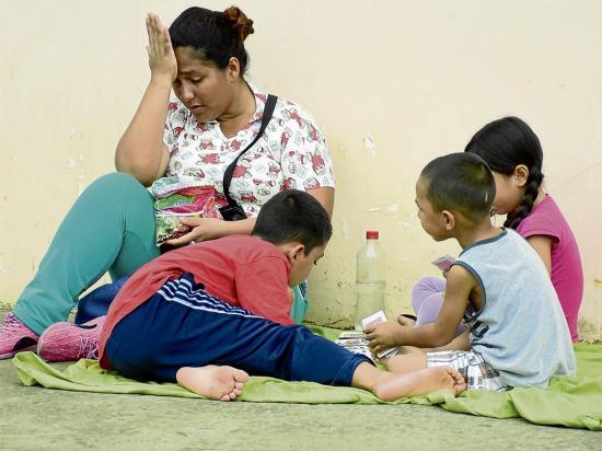 Niños venezolanos, los más vulnerables en Ecuador