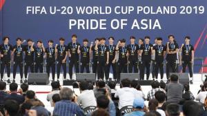 Corea del Sur recibe a lo grande a la sub-20 tras el subcampeonato mundial