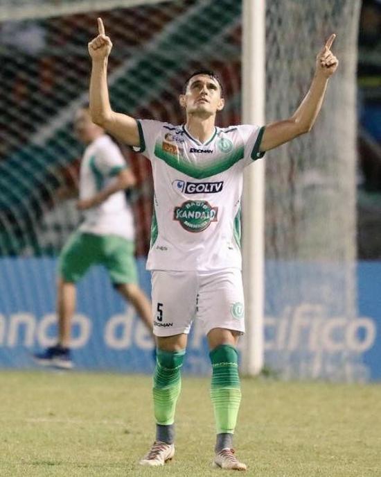 Armando Monteverde se vuelve a vestir con la ''verde y blanco''