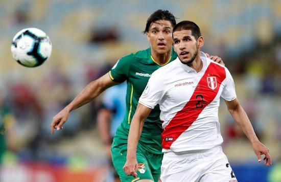 Perú vence 3-1 a Bolivia en el estadio Maracaná