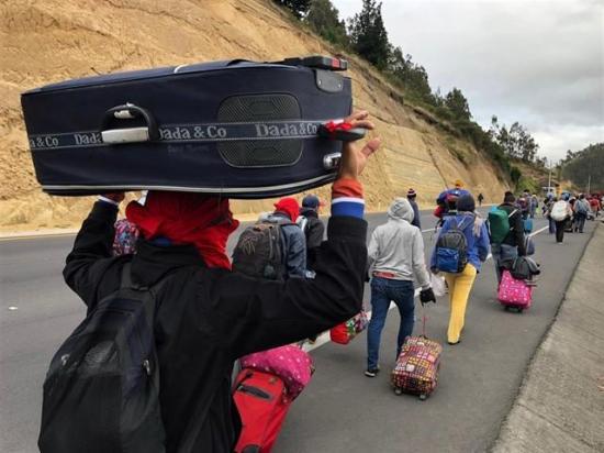 ONU pide mantener fronteras abiertas tras restricciones de Perú a venezolanos