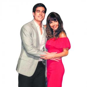 Danilo y Michelle gritan su amor a los cuatro vientos