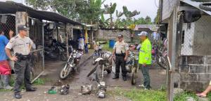 Recuperan cinco motos robadas