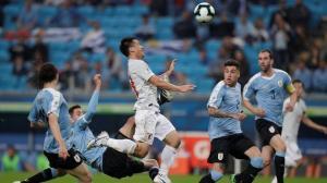 Uruguay no puede con una sorprendente selección japonesa (2-2)