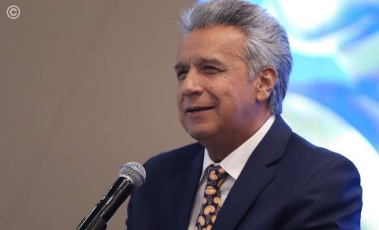 Presidente Lenín Moreno viajará a Francia e Italia en julio