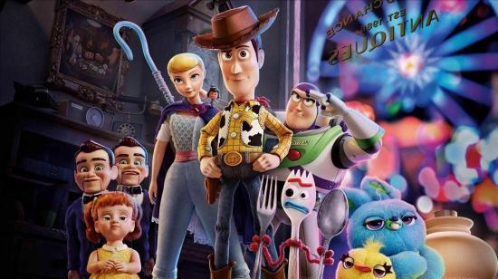 Toy Story 4 llega hoy a los cines de Ecuador